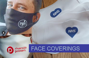 Custom Printed Face Coverings